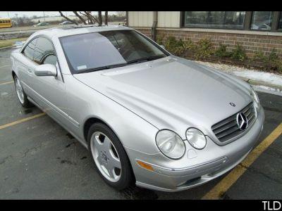 2002 Mercedes Benz Cl Class Cl 500