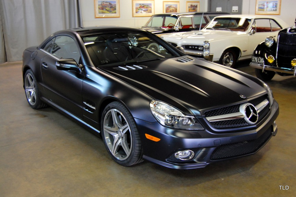 2011 mercedes benz sl class sl550 night edition for Mercedes benz sl550 used