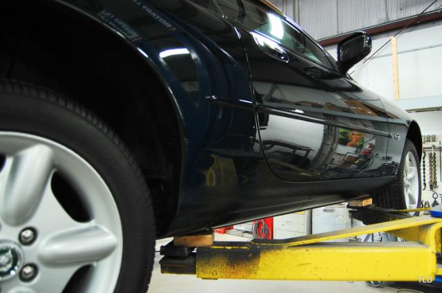 1999 jaguar xk series tilt steering lever repair