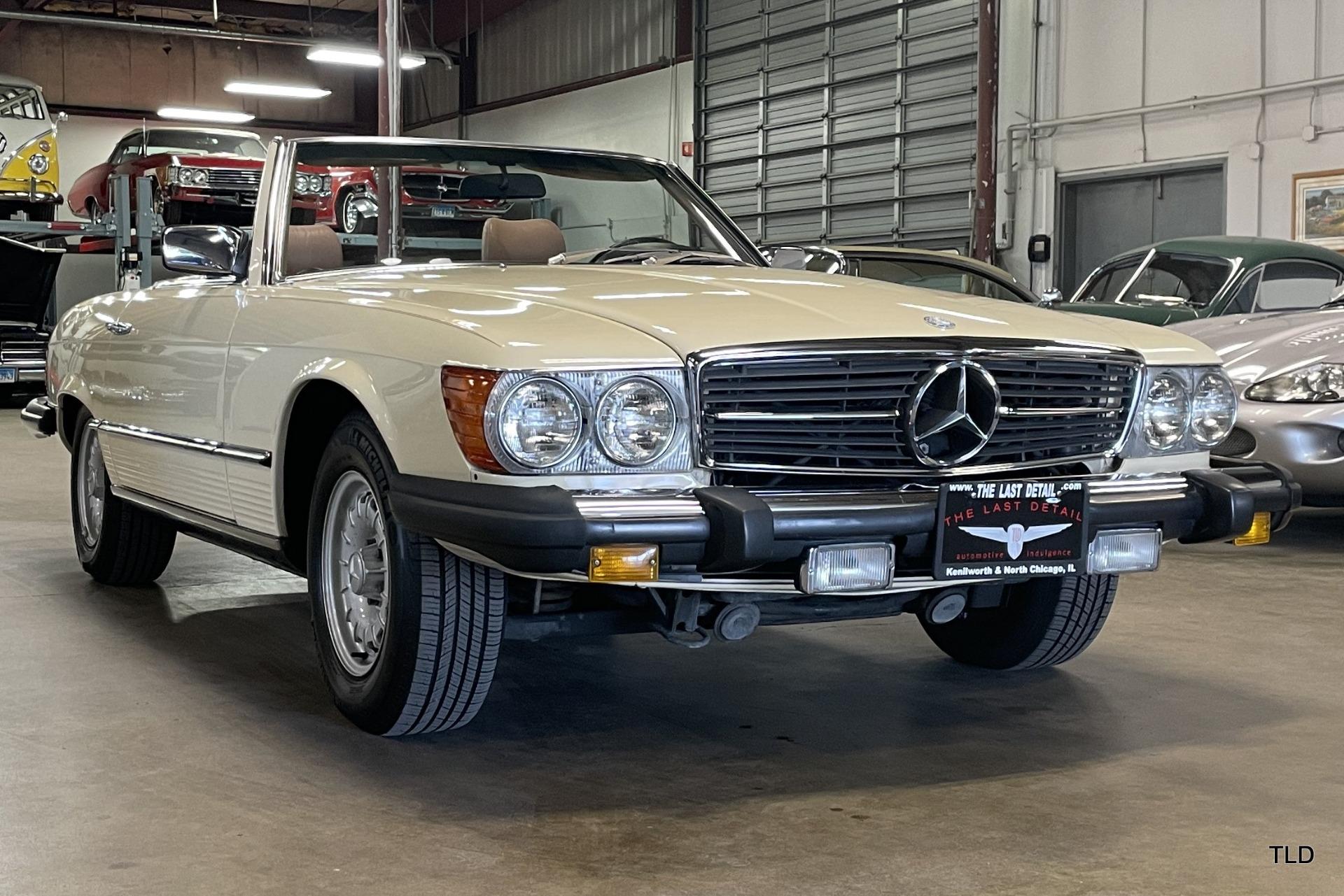 1983 mercedes benz 380 class 380sl