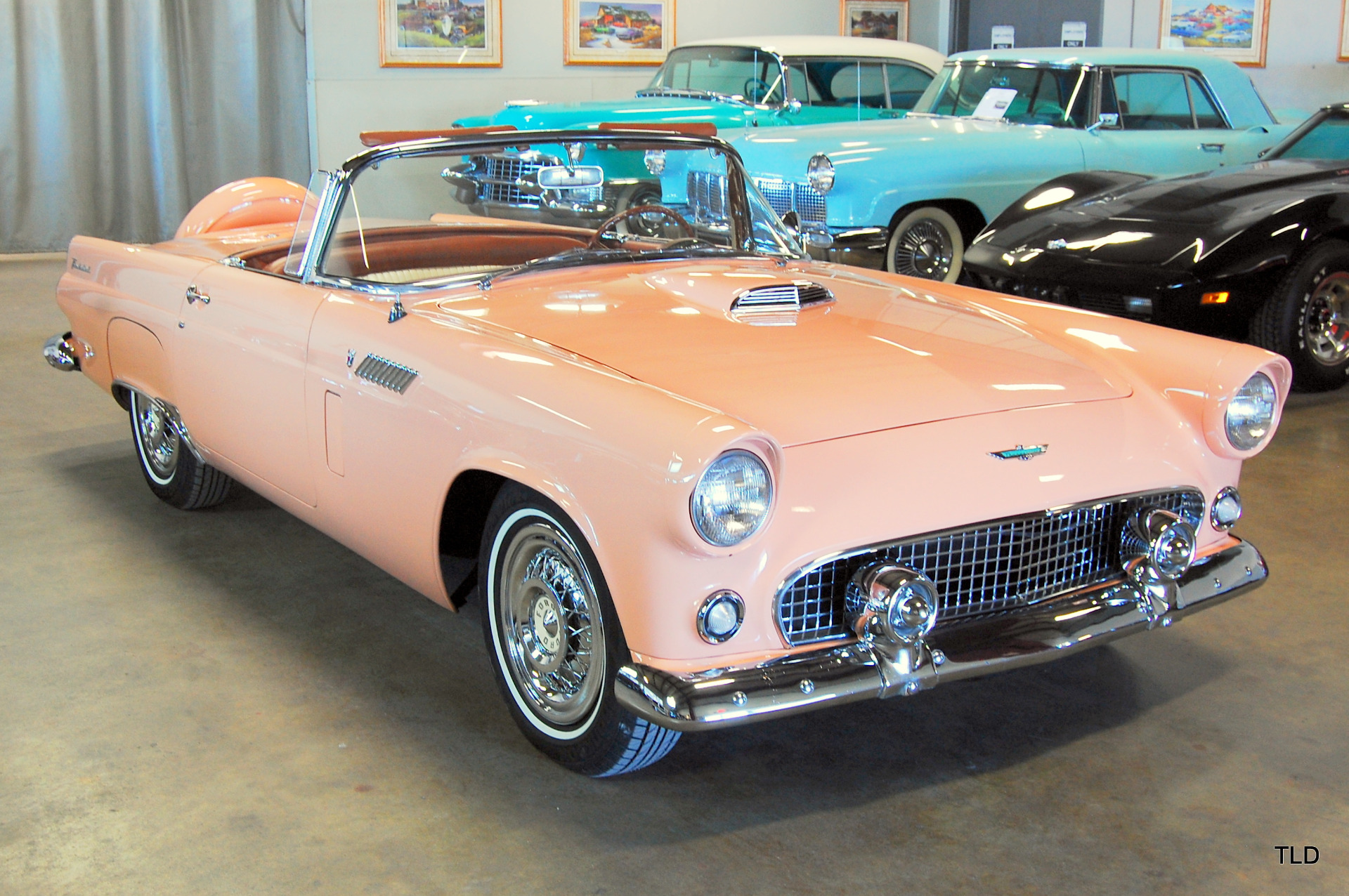 1956 ford thunderbird used ford thunderbird for sale in north chicago illinois. Black Bedroom Furniture Sets. Home Design Ideas