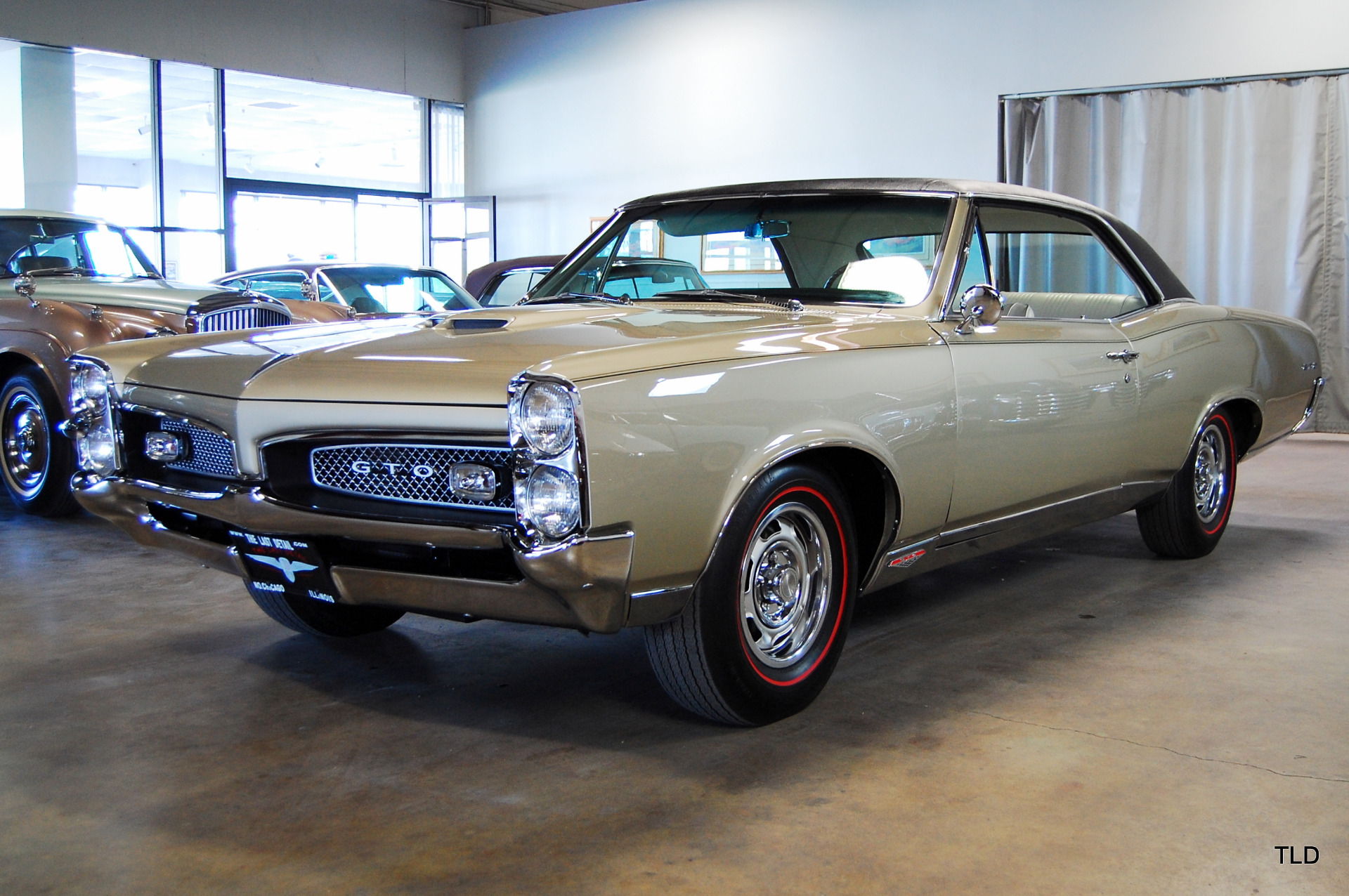 1967 pontiac gto used pontiac gto for sale in north chicago illinois. Black Bedroom Furniture Sets. Home Design Ideas